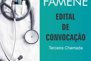 FAMENE/COREME divulga Edital de Convocação da 3ª Chamada da Residência Médica 2015