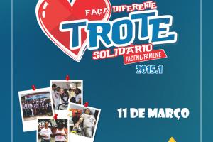 Faculdades Nova Esperança estão em preparação para o Trote Solidário 2015.1