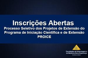 NUPEA abre inscrições para seleção de projetos de extensão vinculados ao PROICE 2015