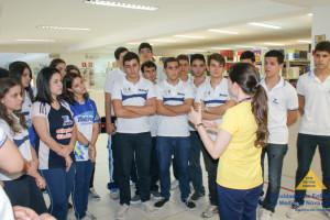 Alunos do Colégio Motiva visitam as Faculdades Nova Esperança