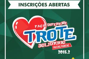 Faculdades Nova Esperança estão em preparação para o Trote Solidário 2015.2
