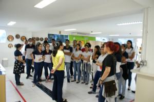 Alunos do Colégio IE visitam as Faculdades Nova Esperança