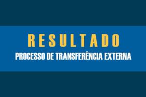 RESULTADO DO PROCESSO SELETIVO PARA INGRESSO POR TRANSFERÊNCIA EXTERNA 2021 – FAMENE