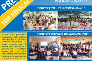Instituições Nova Esperança concorrem com 02 Projetos de Extensão do NUPEA ao Prêmio Top Educacional.