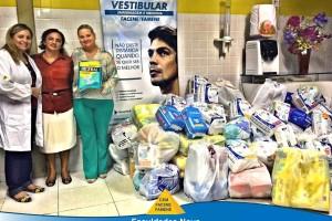 Instituições Nova Esperança doam fraldas geriátricas ao Hospital e Maternidade Governador Flávio Ribeiro Coutinho.