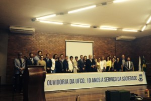 Ouvidora da Facene/Famene participa das comemorações de 10 anos  da  Ouvidoria da UFCG