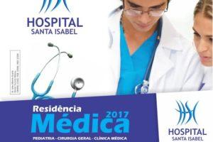 Hospital Santa Isabel oferece vagas para Residência Médica.