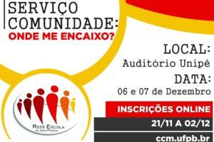 X Oficina da Rede Escola do Município de João Pessoa será realizada nos próximos dias 06 e 07.