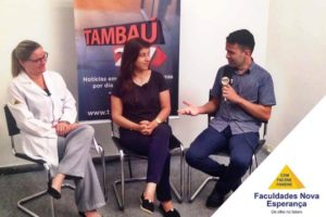 Psicóloga das Faculdades Nova Esperança participa do Programa Vida de Estagiário do portal Tambaú 247