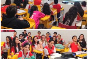 Faculdades Nova Esperança promovem palestra para os alunos do colégio Polígono