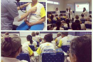Ligas acadêmicas realizam ação em parceria com o Centro de Saúde Nova Esperança