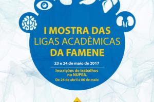I Mostra de Ligas Acadêmicas da FAMENE
