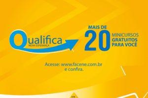 Faculdades Nova Esperança oferecem 1000 vagas em cursos gratuitos de qualificação.