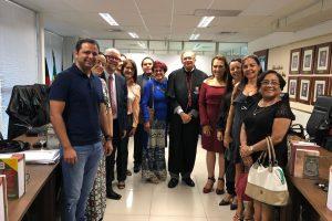 A Ouvidora da Facene/Famene participou da posse de Doriel Veloso Gouveia no cargo de Ouvidor do Ministério Público da Paraíba