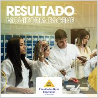 RESULTADO MONITORIA FACENE 2019