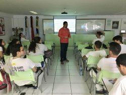 Ética é tema de palestra para acadêmicos do curso de Medicina Veterinária.
