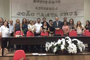 A Ouvidora da FACENE/FAMENE secretariou a 77ª Reunião do FOPO – Fórum Paraibano de Ouvidorias Públicas e Privadas  realizada na OAB/PB