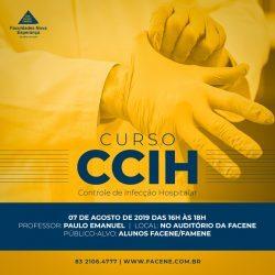 Curso de Controle de Infecção Hospitalar com inscrições abertas
