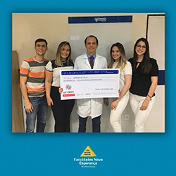 Pesquisa realizada nas Instituições Nova Esperança – Facene/Famene, ganhou o prêmio pelo segundo melhor trabalho científico no Congresso Brasileiro de Angiologia e Cirurgia Vascular