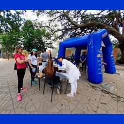 Facene/Famene participa de ação de saúde no Espaço Angelim