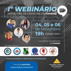 I WEBINÁRIO INTERLIGAS DE MEDICINA DA FAMENE