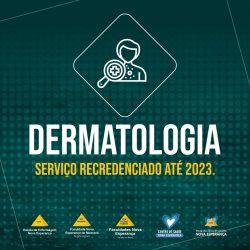 SERVIÇOS DE DERMATOLOGIA DAS INSTITUIÇÕES DE ENSINO E DA SAÚDE NOVA ESPERANÇA FORAM RECREDENCIADOS PELA SOCIEDADE BRASILEIRA DE DERMATOLOGIA (SBD).
