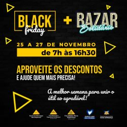 BLACK FRIDAY – BAZAR SOLIDÁRIO NOVA ESPERANÇA