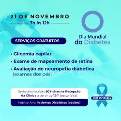 Centro de Saúde Nova Esperança – Unidade Valentina, promove DIA D da Diabetes