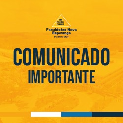 COMUNICADO IMPORTANTE: ANTECIPAÇÃO DE FERIADOS