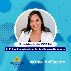 Egressa da Facene assume presidência do Coren-PB