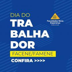 DIA DO TRABALHADOR – RH PROMOVE AÇÃO ESPECIAL PARA COLABORADORES