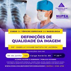 NUPEA abre inscrições para Cursos de Tópicos Especiais em Radiologia