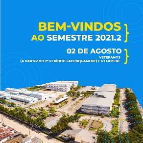 PROGRAMAÇÃO ESPECIAL MARCA INÍCIO DO SEMESTRE 2021.2 NAS FACULDADES NOVA ESPERANÇA