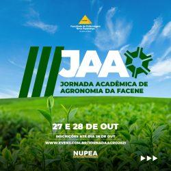 III JORNADA ACADÊMICA DE AGRONOMIA