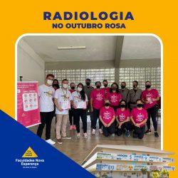 Outubro Rosa: Alunos de Radiologia realizam palestra sobre detecção precoce do câncer de mama.