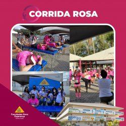 CORRIDA ROSA: FACULDADES NOVA ESPERANÇA PARTICIPAM DE CORRIDA ESPECIAL